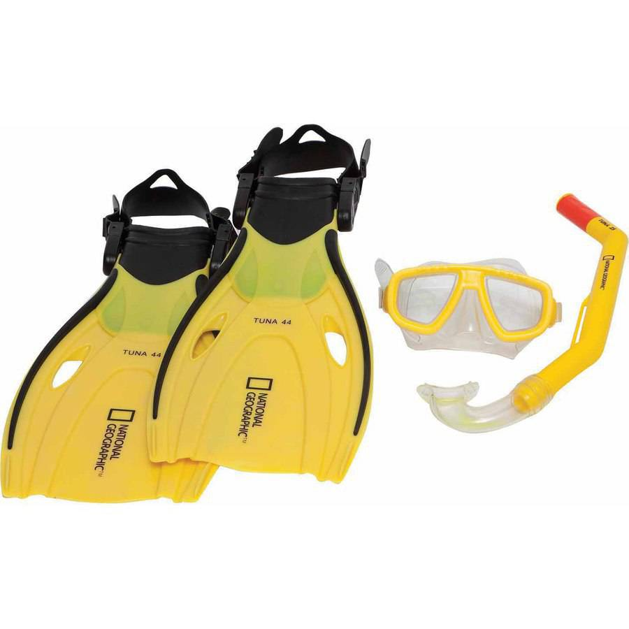 National Geographic Snorkeler Tuna 44 Set, Yellow/Black