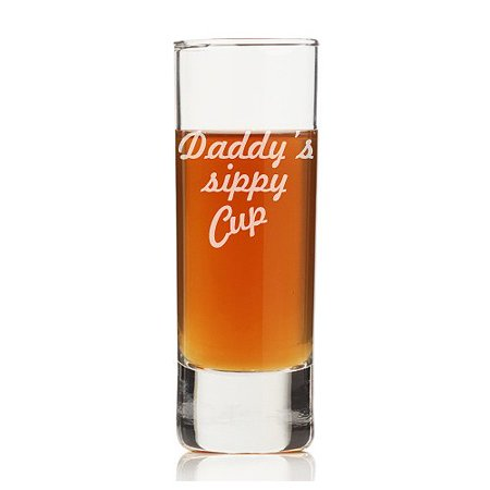 (Chloe and Madison Daddy's Sippy Cup 2 oz. Tall Shot Glass (Set of 4))