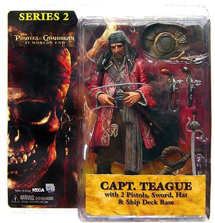 NECA Pirates of the Caribbean Series 2 Captain Teague Action Figure