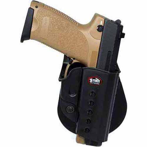 Fobus Paddle Holster H&K VP9 40, Walther PPQ  M2 9mm. Right Hsand, Black by Fobus