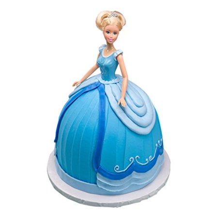 Disney Princess Doll Signature Cake DecoSet Cake Topper, Cinderella, 11