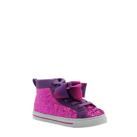 Nickelodeon Jojo Siwa Pink Sequins High-Top Sneaker (Little Girls & Big Girls)