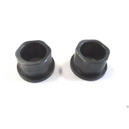 Adjustable Flange Bearings - 2 Genuine MTD 941-0245 Flange Bearings Fits Troy-Bilt Cub Cadet Craftsman Bolens
