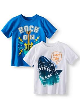 Toddler Boys Tops   T-Shirts - Walmart.com b1cb0c202f78