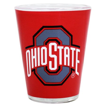 Ohio State Two Tone Shot Glass - One Glass