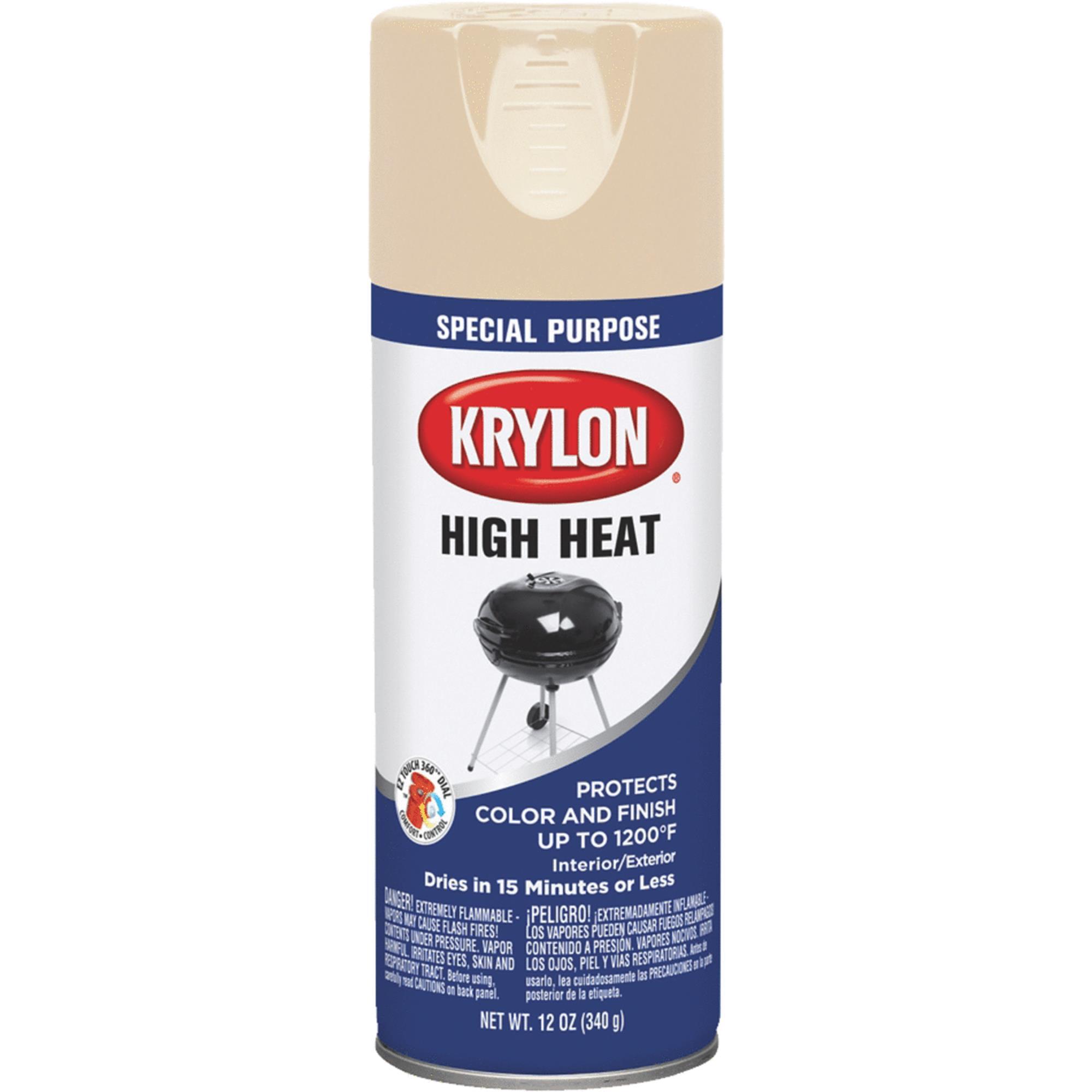 Krylon High Heat Spray Paint Walmart Com Walmart Com