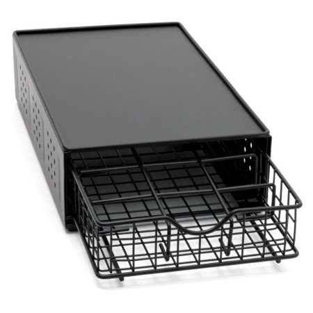 Lipper International One Tier Single Cup Drawer Stand Black