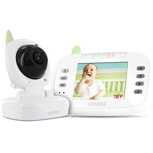 "Levana - Safe N' See Advanced 3.5"" Digital Video Baby Monitor"