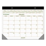 At-A-Glance GG2500-00 Two-color Desk Pad, 22 X 17, 2020