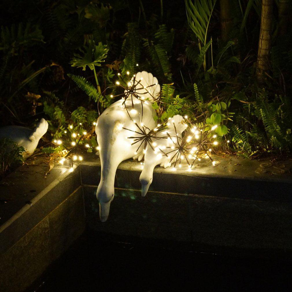Waterproof Explosion Ball Garden Tree String Light with 5pcs Balls ...