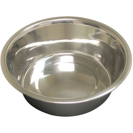 Marpac Stainless Steel (QT Dog, Standard Stainless Steel Food Bowl, 1/2 pt )