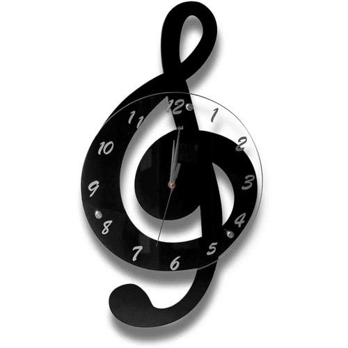Clef Music Clock