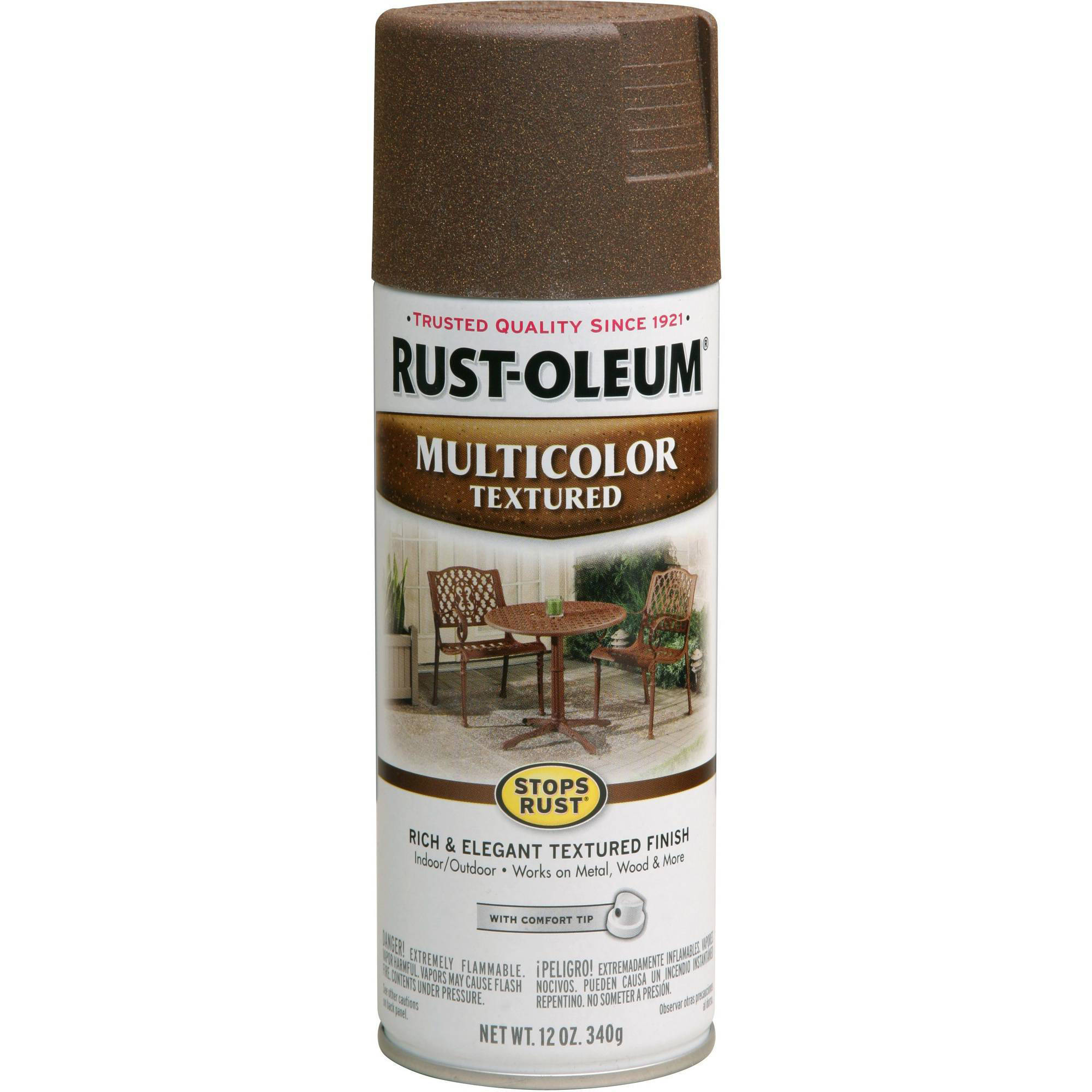 Rust Oleum Stops Rust Multicolor Textured Spray Paint
