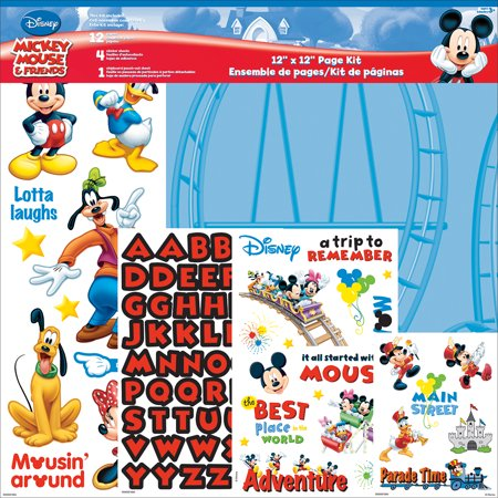 Sandylion Mickey Mouse - Disney Page Kit 12