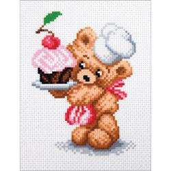 Confectioner - Collection D'Art Stamped Cross Stitch Kit 16X20cm