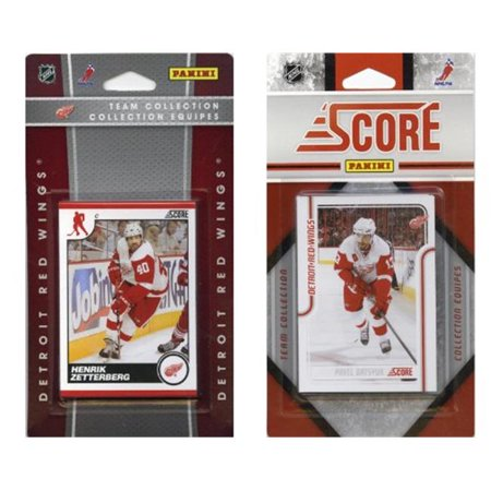 C & I Collectables RWINGS2TS NHL Detroit Red Wings Licensed Score 2 Team Sets - image 1 of 1