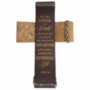 Cross-Legacy Of Love-John 3:16-Standing (8.25 x 5.75)