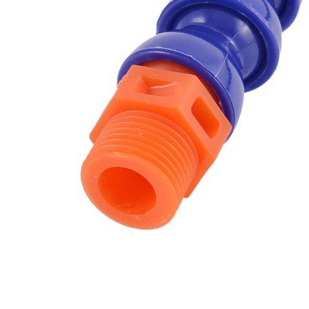 Con ronde 1/2BSP fil male flex eau huile refroidissement liquide Tube 50cm Long - image 3 de 4
