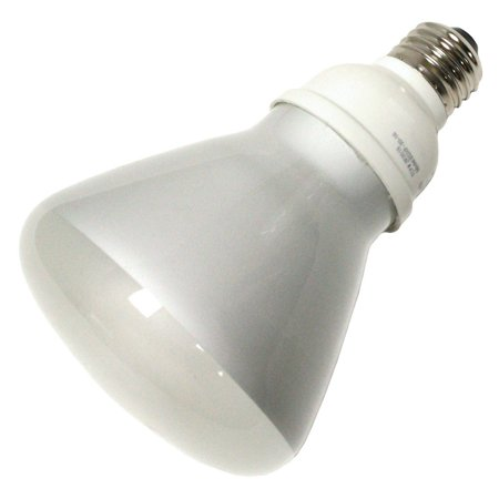 TCP 2R301622541K R30 Electronic Long Neck Compact Fluorescent Lamp 16 Watt E26 Medium Base 82 CRI 4100K 65 Watt Incandescent