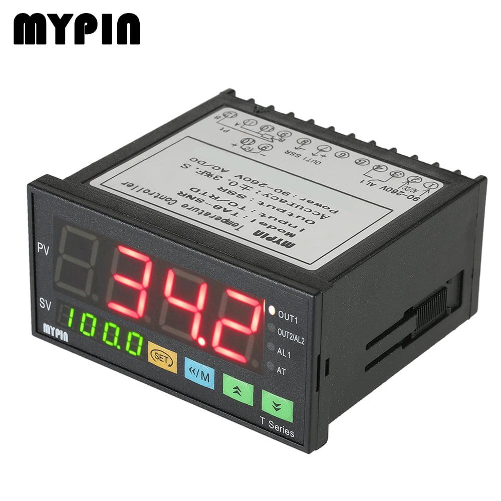 Digital F//C PID Thermostat Temperature Controller TA6-SSR SSR output+2 Alarms