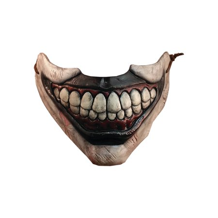 Halloween Trick Or Treating Cartoon (Trick Or Treat Studios American Horror Story: Twisty Mouth Piece Movie Mold Halloween Costume)
