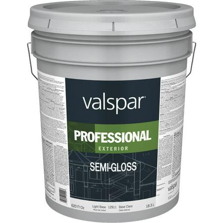 Valspar Professional 100 Acrylic Semi Gloss Exterior House Paint