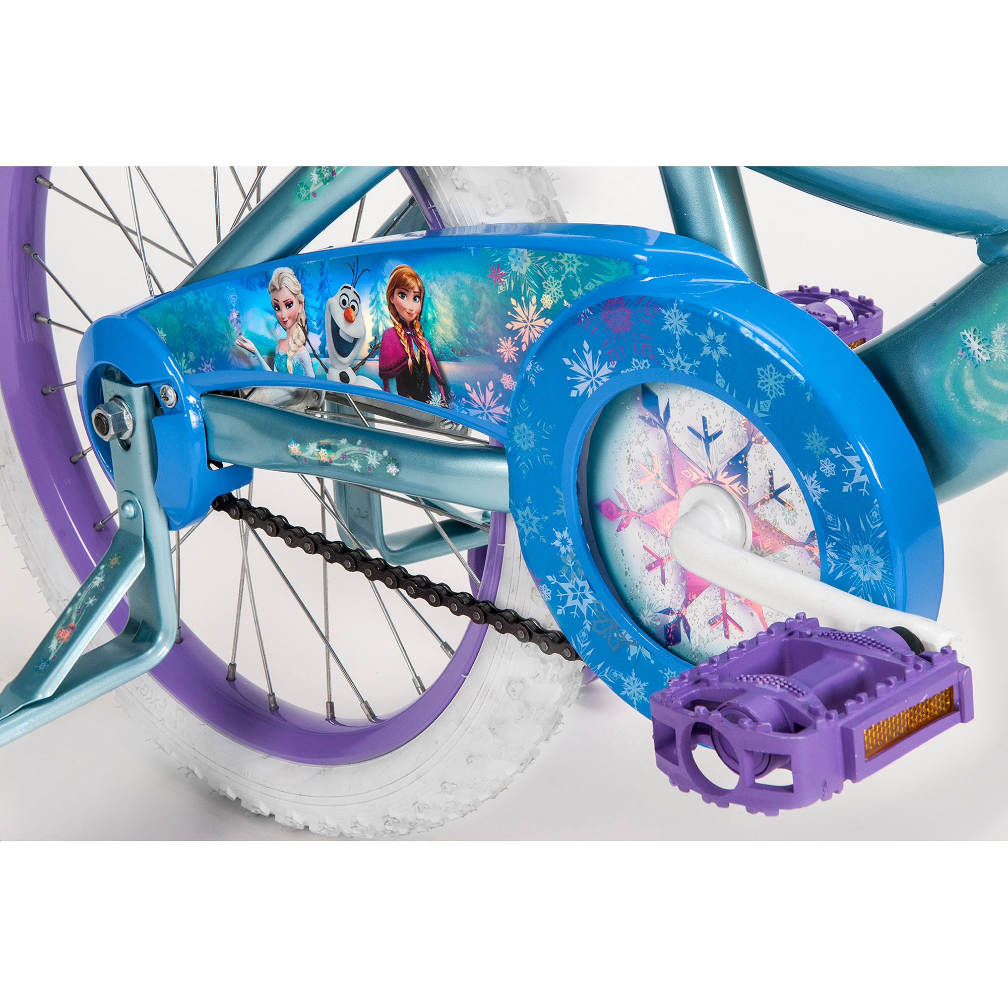 "18"" Huffy Disney Frozen Girls Bike and Bell Sports Disney 3D"