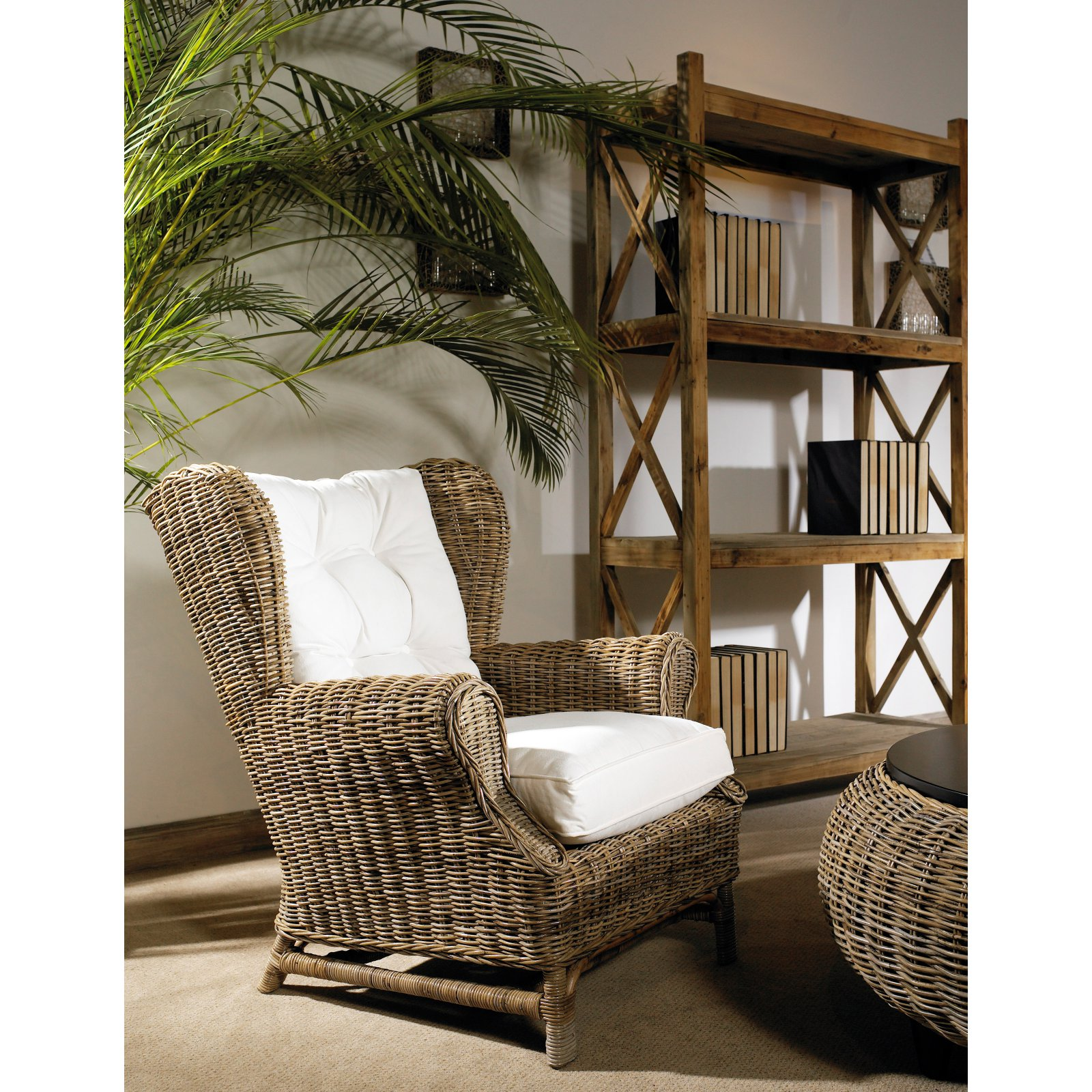 Padmas Plantation Kubu Wingback Chair
