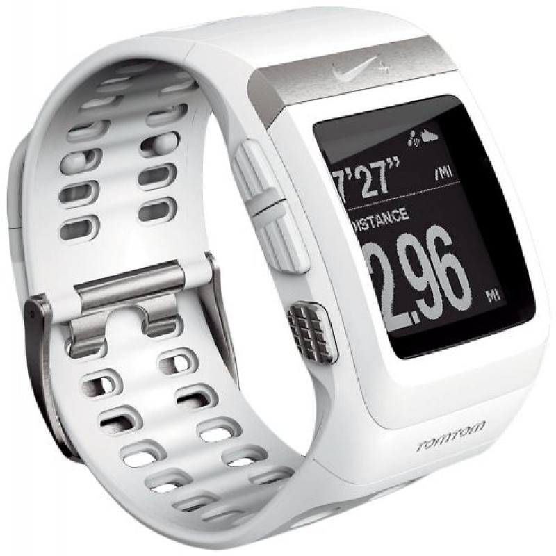 Nike+ SportWatch GPS Powered by TomTom (White) by Nike