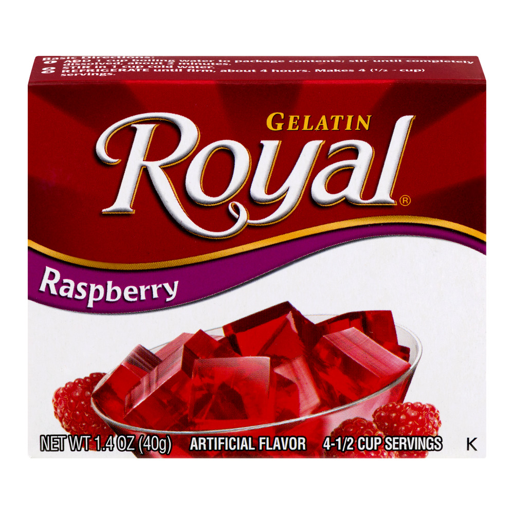 Royal Raspberry Gelatin, 1.4 oz