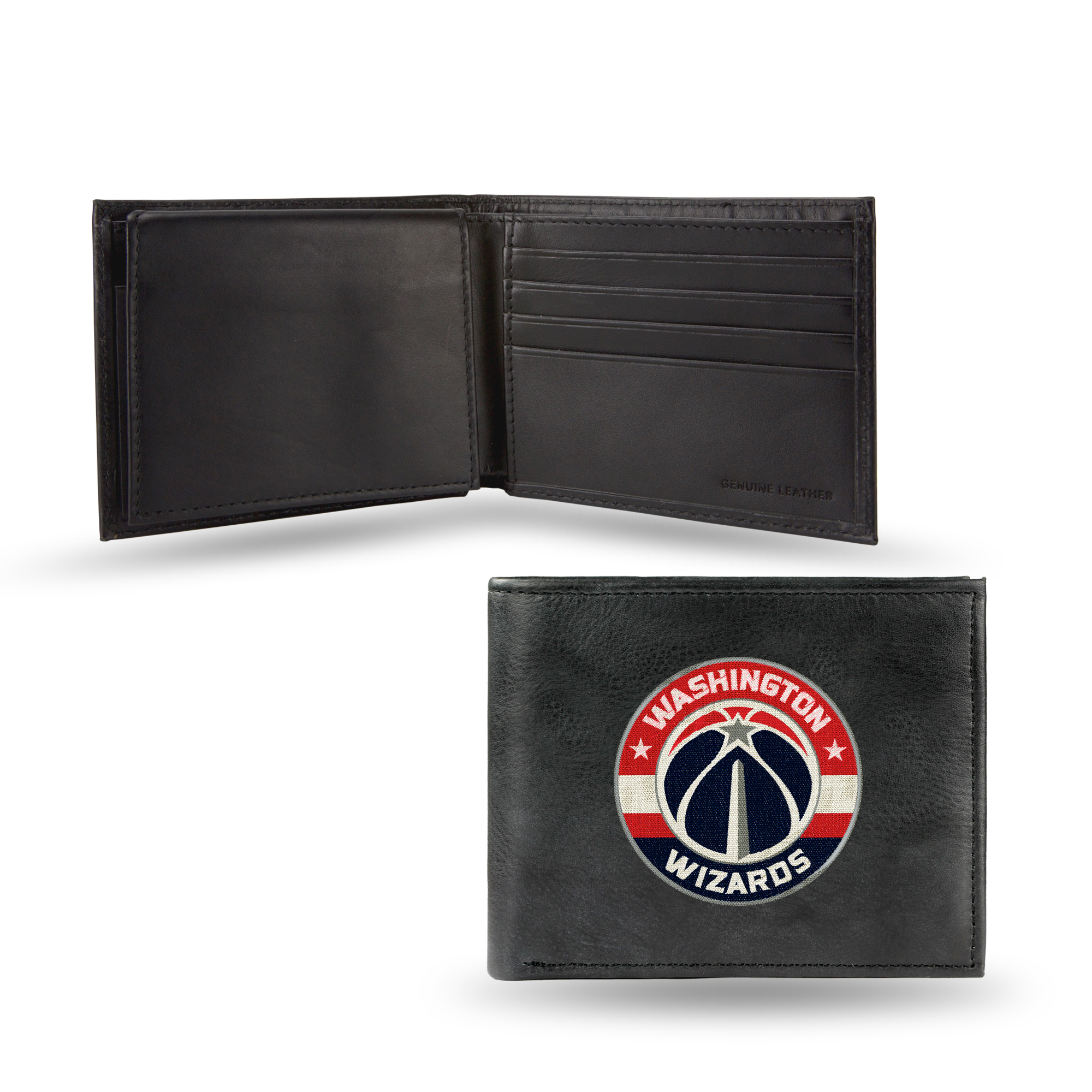 NBA - Men's Washington Wizards Embroidered Billfold Wallet