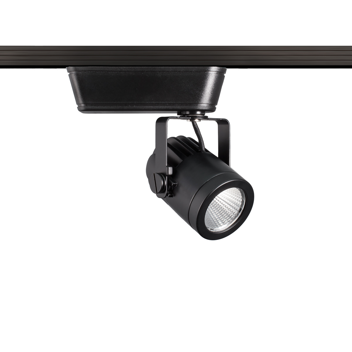 WAC Lighting Precision LED Low Voltage J-Track Head Black 14.5W 4000K Spot Beam Black