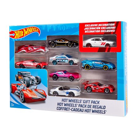 Hot Wheels 9-Car Gift Pack Collection (Styles May Vary) - Walmart.com c03c408ff