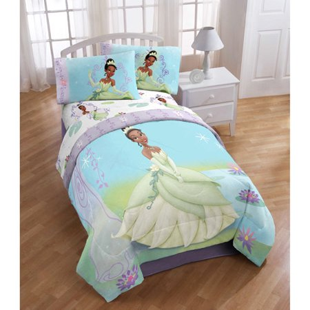 Disney Princess and the Frog Reversible Comforter, Twin