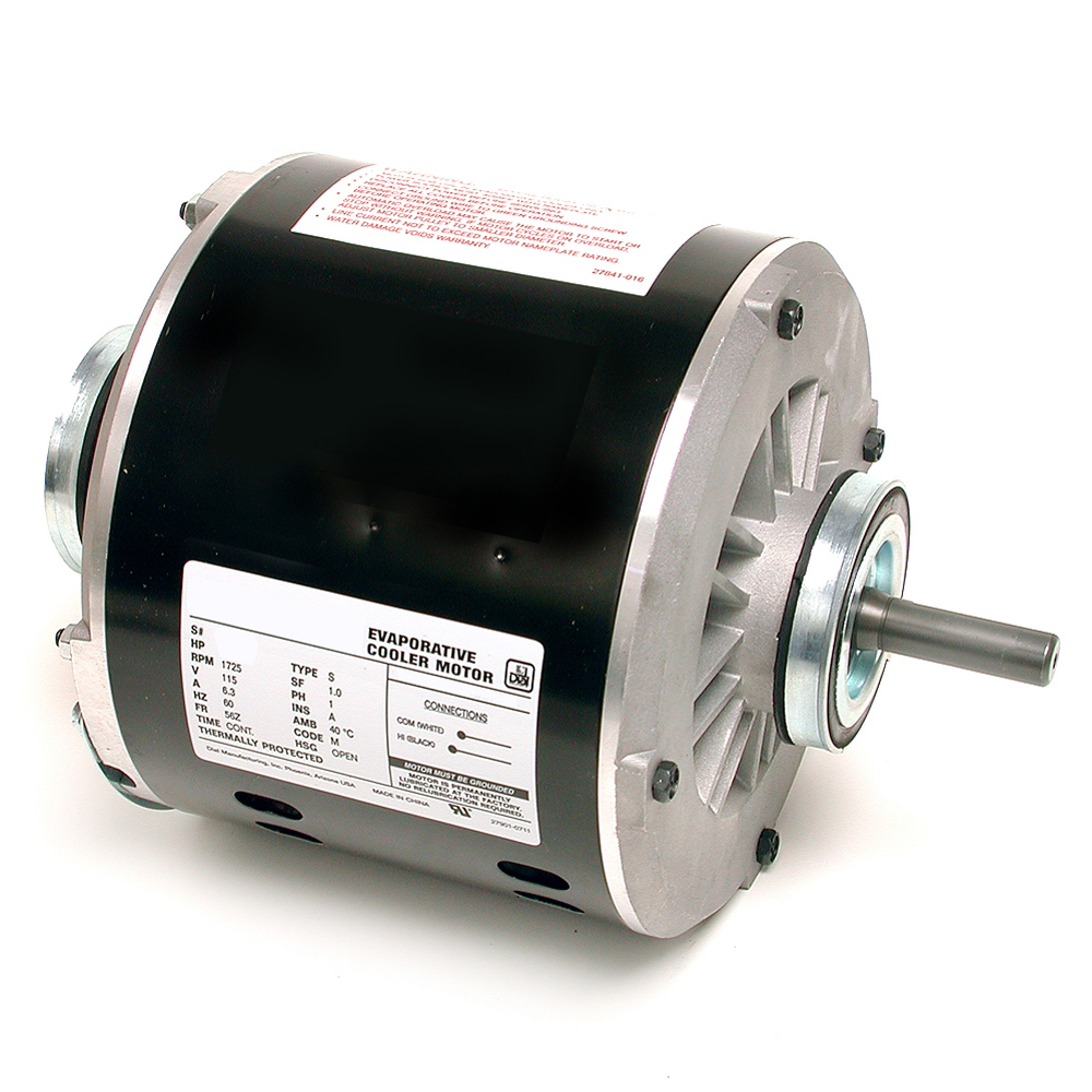 Dial Manufacturing 2204 1/2 HP 2 Speed Evaporative Cooler Motor