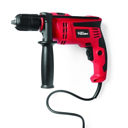Hyper Tough 6.0-Amp 1/2-Inch Corded Hammer Drill, DL1137 ()