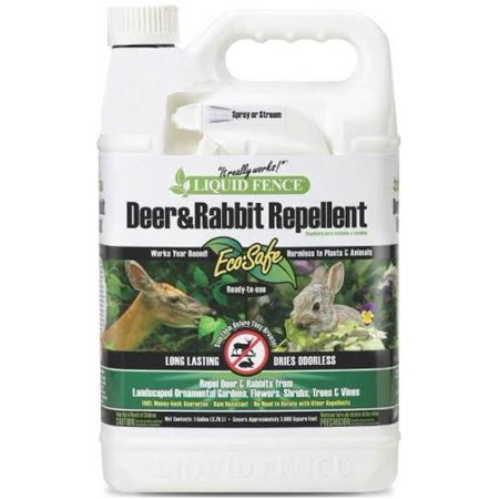 Liquid Fence Deer & Rabbit Repellent Ready-to-Use, 1-gal