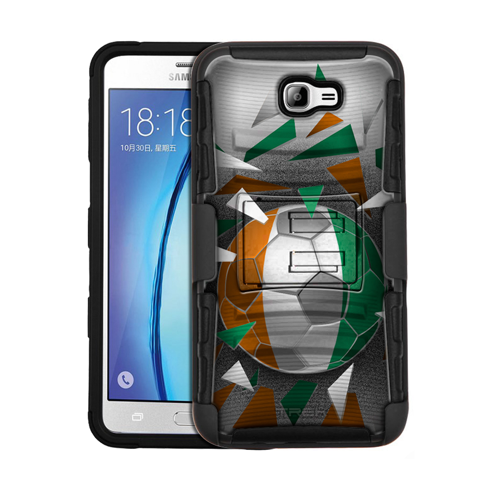 Samsung Galaxy On7 Armor Hybrid Case - Soccer Ball Cote D'ivoire