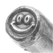 Happy Smiley Face Punch For Stamping Metal Blanks 1/4 Inch 6mm (1)