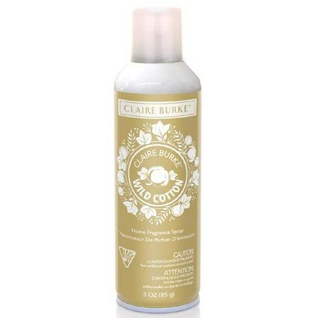 Claire Burke Vapourri Home Fragrance Spray 3 Oz  Box Of 6   Wild Cotton