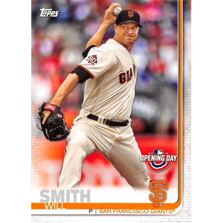 2019 Topps Opening Day #163 Will Smith San Francisco Giants Baseball