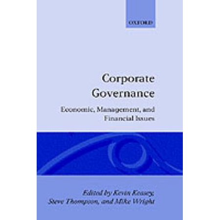 Corporate Governance  Economic And Financial Issues