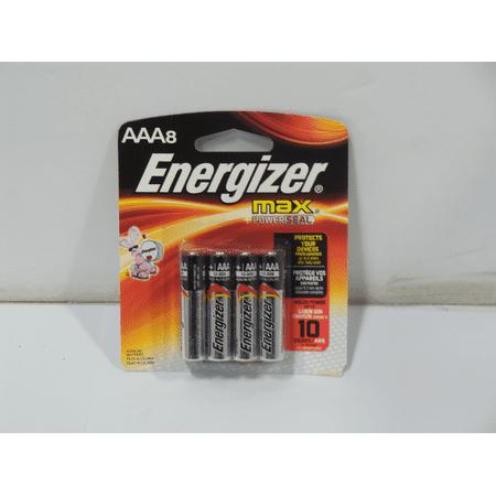 Energizer Max Alkaline AAA Batteries, 8 Count Energizer Max Alkaline AAA Batteries, 8 Count