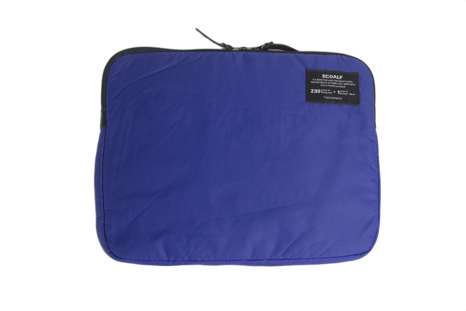ECOALF Royal Blue MacBook Air Pro Zip Around Closure Solid Case by ECOALF