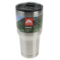 Ozark Trail Double Wall Vacuum Sealed Stainless Steel Tumbler, 30 oz