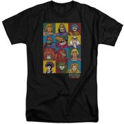 Masters Of The Universe Character Heads Mens Big and Tall Shirt