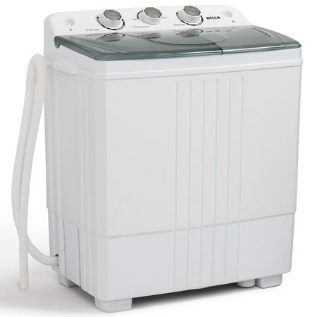 Della Compact Portable Washing Machine Top Load Washer