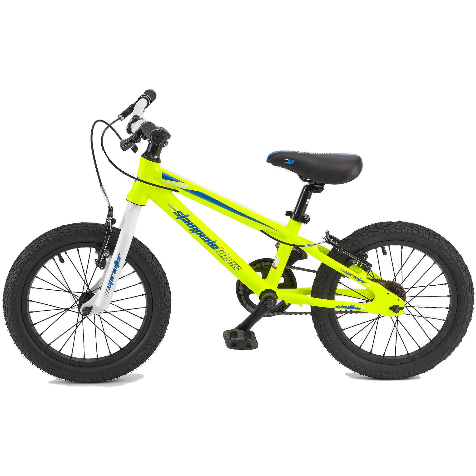 "16"" Stampede Bikes Sprinter Bike, Yellow"
