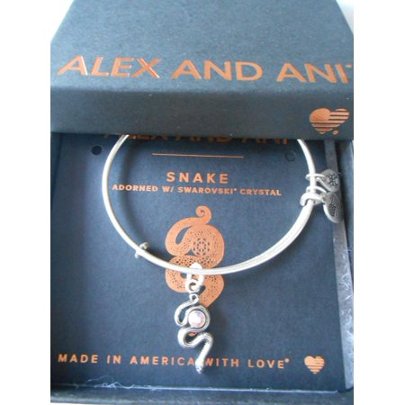 Alex And Ani Alex And Ani Path Of Symbols Snake With Crystal
