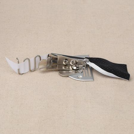 Sonew 1 pc Industrielle Machine À Coudre Double Fold Angle Reliure Reliure Attachement Dossier, Accessoires De Machine À Coudre, Reliure courbe bord Dossier - image 2 de 7